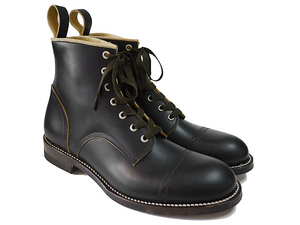 Makers メイカーズ CHAIN RACE UP BOOTS BLACK