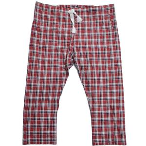 m's braque エムズブラック PAJAMA PANTS 15SS RED check