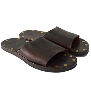Vasco ヴァスコ LEATHER TRAVEL SANDAL BROWN