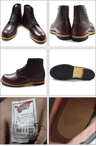 "RED WING レッドウィング 【9011】Beckman Boot 6"" Round-toe 9011"