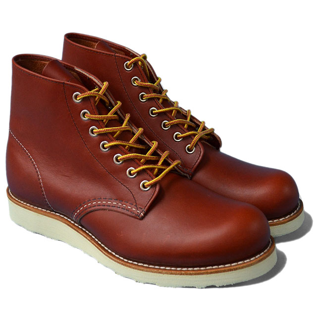 "RED WING レッドウィング 【8166】Classic Work 6"" Round-toe 8166"