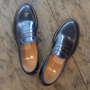 Makers メイカーズ V TIP LOAFER NAVY