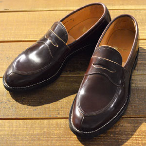 Makers メイカーズ V TIP LOAFER 15AW BURGUNDY