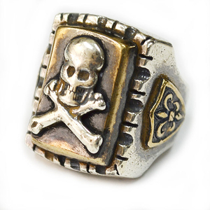 HTC MEXICAN RING #SQUARE SKULL