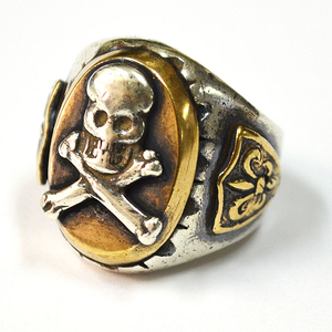 HTC MEXICAN RING #OVAL SKULL