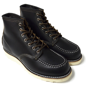 "RED WING レッドウィング 【9874】Irish Setter 6"" Moc-toe Black ""Klondike"""