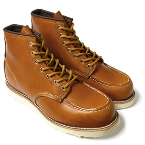 "RED WING レッドウィング 【9875】Irish Setter 6"" Moc-toe Gold Russet ""Sequoia"""