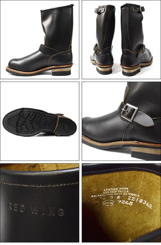 "RED WING レッドウィング 【9268】11"" Engineer ""Stovepipe"" Black ""Klondike"""