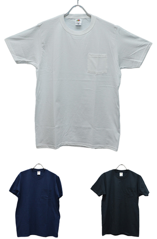 FRUIT OF THE LOOM PACK TEE POCKET J3930PHD 2枚組