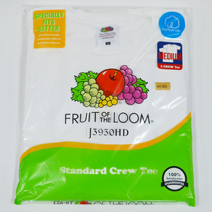 FRUIT OF THE LOOM PACK TEE J3930HD 2枚組