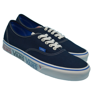 VANS バンズ VANS AUTHENTIC(VANS CHECKER TAPE) Lifestyle Dress Blues/Blue VN0A38EMMQO