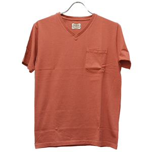 スタンダードカリフォルニア Standard California SD Shield Logo Pocket V Neck
