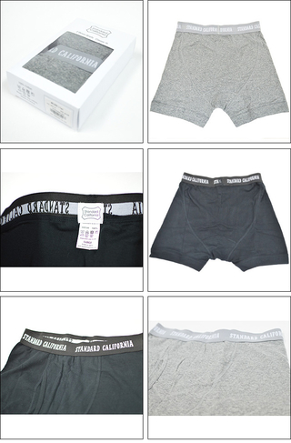 スタンダードカリフォルニア Standard California SD BOXER BRIEFS 2P