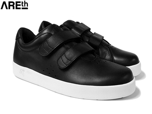 AREth アース MODEL i (velcro) BLACK LEATHER