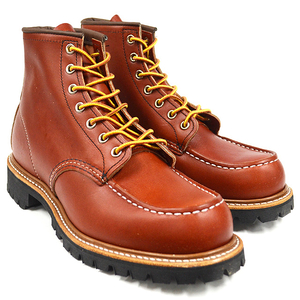 "RED WING レッドウィング 【8175】6""MOC-TOE LUG-SOLE HERITAGE WORK"
