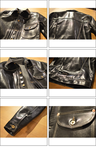 FINE CREEK LEATHERS ファインクリークレザーズ LYNCHBURG BLACK FCJK004