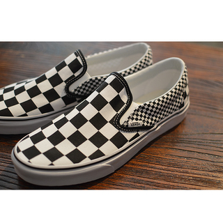 VANS バンズ CLASSIC SLIP-ON(Mix Checker) Lifestyle Black/TRUE WHITE VN0A38F7Q9B