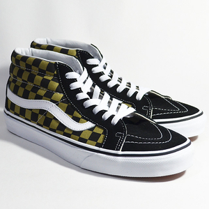 VANS バンズ SK8-MID REISSUE Lifestyle (2-Tone Checker) boa/black VN0A3MV8QJY