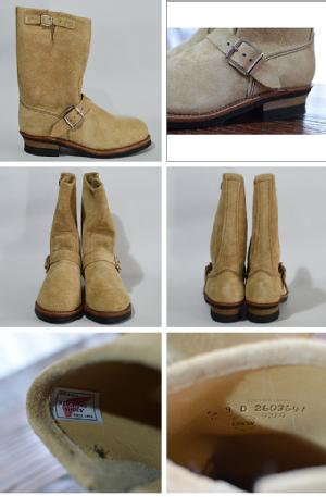"RED WING レッドウィング 【9269】11"" ENGINEER(STEEL-TOE) STOVEPIPE ROUGHOUT"