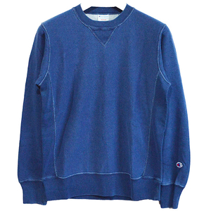 Champion チャンピオン REVERSE WEAVE CREW NECK SWEAT インディゴ SWB326 C3-K003
